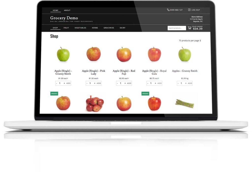 Online Grocery Ordering