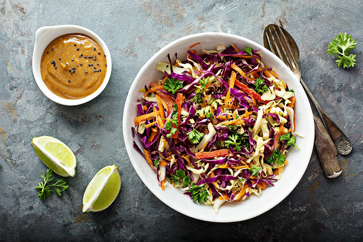Southeast Asian Coleslaw