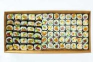 YNJ Japanese Catering Sushi Deluxe Sushi Platter Boxed Large