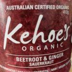 Kohoe's Organic Sauerkraut – Beetroot & Ginger (410gm)