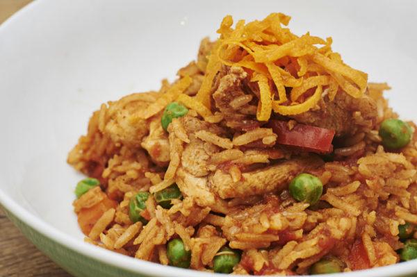 Spanish Chicken Rice Nicholas Duell © 2020 Blog Dsc 0690